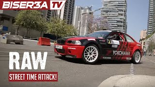 BMW E46 crazy action and sound in Downtown Beirut with Paul Kossaifi