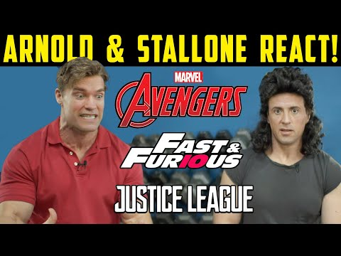 1980's Arnold & Stallone REACT to MODERN ACTION MOVIES