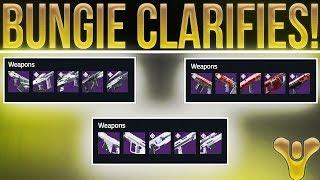 Destiny 2 Update. Bungie Clarifies Season 2 Faction Rally Rewards (New Weapons).