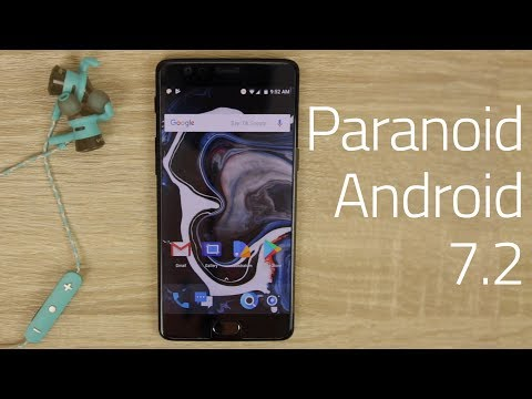 Paranoid Android 7.2 Hands On!