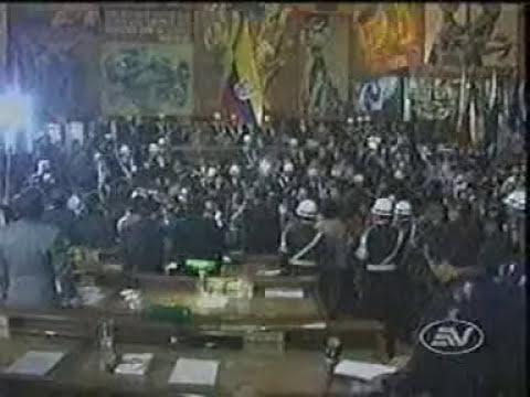 Caida de Abdala Bucaram 5 de Febrero de 1997