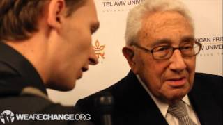 Henry Kissinger Says Luke Rudkowski Is A Sick Person for Questioning Him on NSM 200