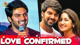 OFFICIAL : Arya Confirms Marriage With sayyeshaa | Hot Tamil Cinema News