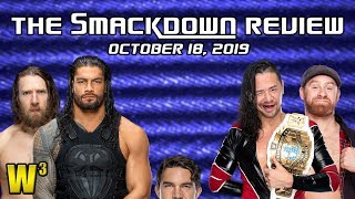 Roman & Bryan vs. Shinsuke & Zayn! Here Comes SHORTY G! | The Smackdown Review (Oct. 18, 2019)