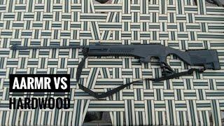 Aarmr Sports Model 16 Hurricane Air Rifle Vs Hardwood|Must Watch|👍👌👍|