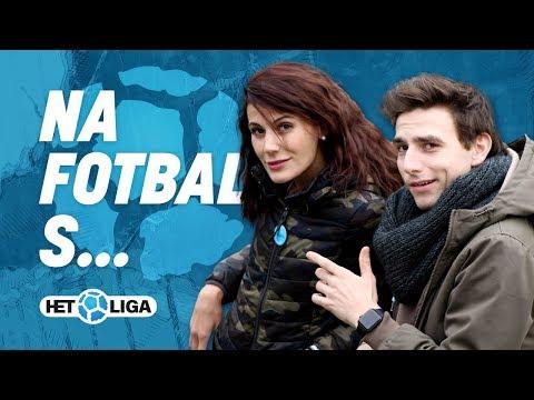 Na fotbal s Monikou Timkovou a Vaškem Matějovským