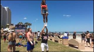Must see cheerleading stunts tricks compilation
