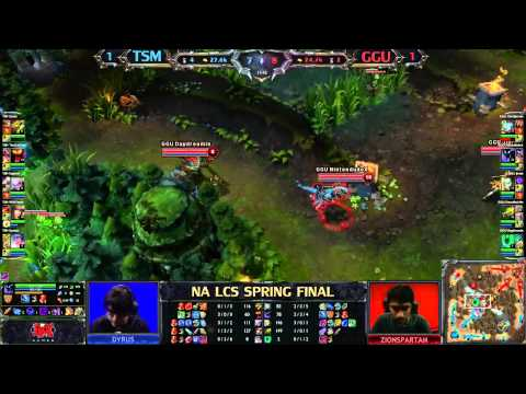 Team Solo Mid (TSM) vs Good Game University (GGU) (3/5) - League of Legends LCS 2013 Finals