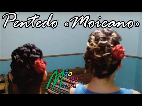 Penteado Moicano Para Prendas, Noivas, 15 anos, Festas