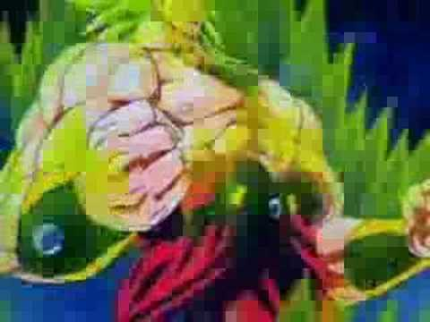 All Super Saiyan Transformations - Scatman Remix