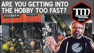 Are You Getting Into the Wargaming Hobby Too Fast?