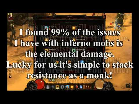 Diablo 3 A2 Inferno Monk Build / Guide