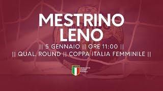 [Qual. Round] Coppa Italia F: Mestrino - Leno 33-24