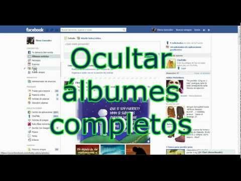 Cómo ocultar fotos y álbumes en Facebook