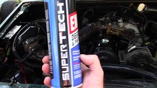 Super Tech Engine Degreaser - Having Fun With A Client & Walmart Product