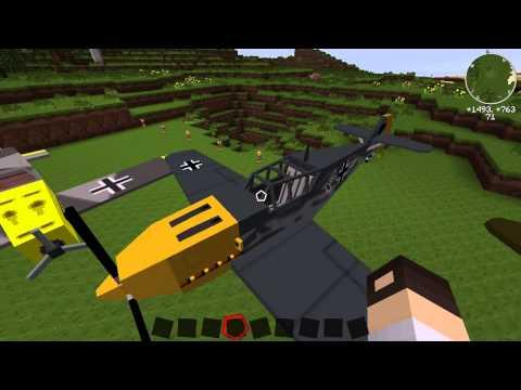 Showcase - Manus WW2-Pack [Flan-Mod][Minecraft][HD][Deutsch]
