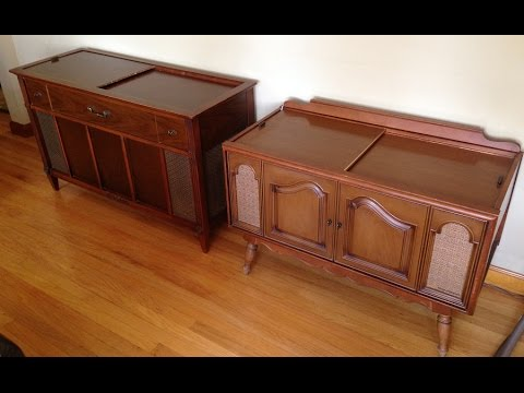 1960s Magnavox Astro Sonic Console Stereos  (PART 1: Evaluation & Cleaning)