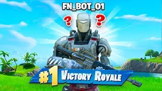 Can a AI BOT *WIN* In Fortnite Chapter 2!?