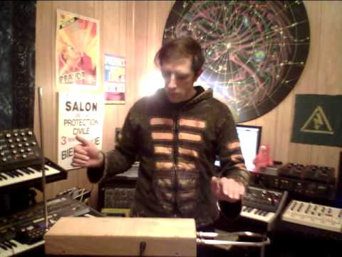 DJ Rap Moog Theremin Little Phatty Demo