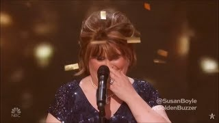 Susan Boyle Earns Golden Buzzer With Iconic 34 Wild Horses 34 America 39 S Got Talent The Champions