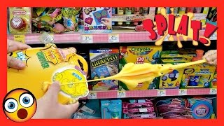 Putty/Slime TOYS , SPLAT BALLS & STRETCHY TOYS  At Walgreens  Toy Hunt 2017