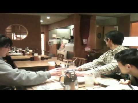 0 earthquake at restaurant in tokyo japan 2011