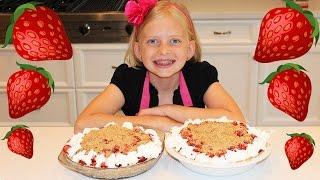 Kid Size Cooking: Fresh Strawberry Pie