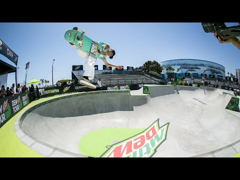 Men's Park Open Qualifier Highlight Video | 2019 Dew Tour Long Beach