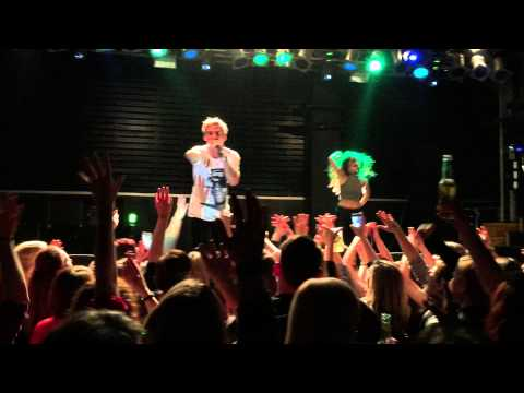 AARON CARTER live at Berlin, Germany / 21.01.15