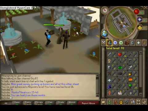 Runescape – Defence Guide 1-40 F2P