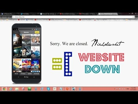 Movie Box For Android (Sorry. We Are Closed) Website Down Issues