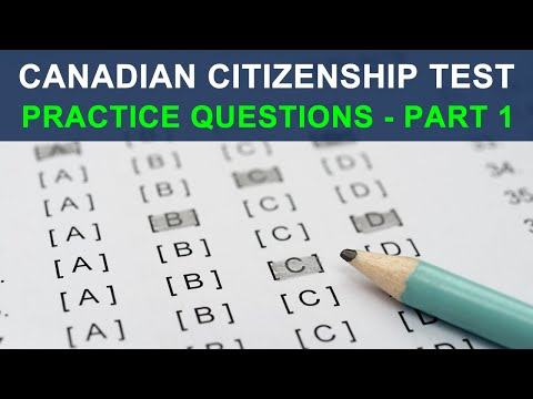 Canadian Citizenship Test 2014   Practice Questions 1 Of 5