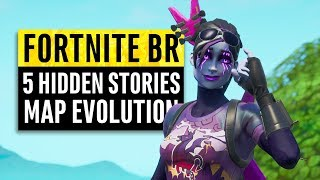 Fortnite   5 Hidden Stories   Map Evolution & Secret Updates