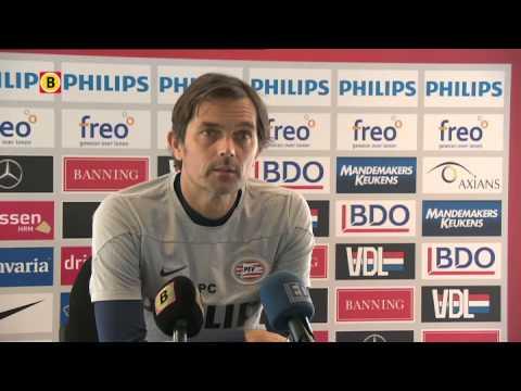 Phillip Cocu over PSV-FC Utrecht