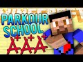 Minecraft PARKOUR SCHOOL with Vikkstar, Lachlan & Preston (Minecraft Parkour)