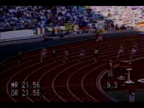 200m   Women   21 34s   Florence Griffith Joyner   1988 Seul Final