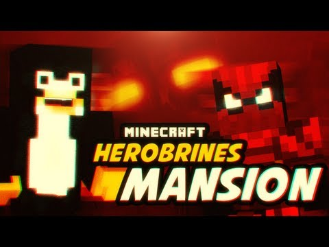 Minecraft -  KROL SZKIELETOW!! - Herobrines Mansion #2