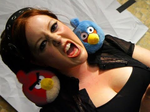 Adele PARODY ft. Angry Birds! Key of Awesome #38