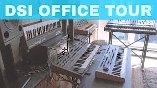 DAVE SMITH INSTRUMENTS OFFICE STUDIO TOUR