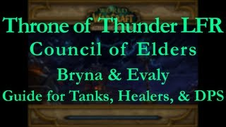 Throne of Thunder LFR Council of Elders Guide [Bryna & Evaly]