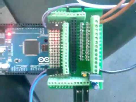 Raspberry Pi to Arduino Shields Connection Bridge
