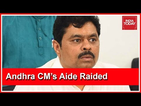 Andhra CM Aide C.M. Ramesh's Residence, Office Raided By Income Tax Dept