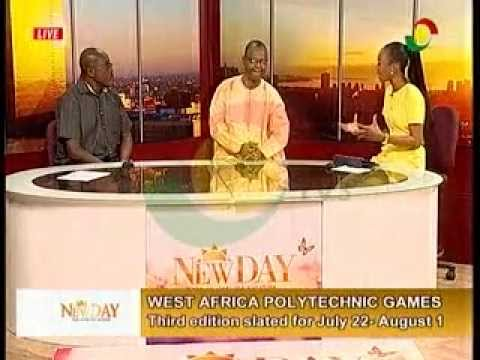 NewDay - Discussing West-Africa polytechnic games - 21/7/2015