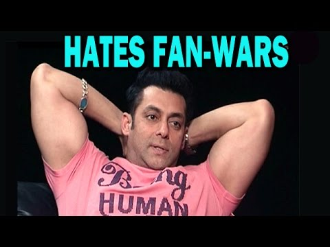 Kick Movie - Salman Khan Reacts To Fanwars! video