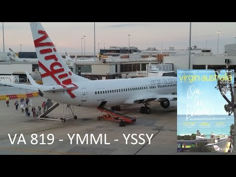 Virgin Australia | VA-819 | Melbourne to Sydney | Take off & Landing