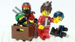Lego Ninjago Brick Matching Wrong Costumes Figures Animation For Kids
