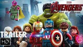 Lego trailer Avengers Age of Ultron (Lego trailer)