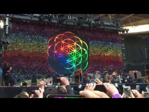 COLDPLAY World Tour 2016 Intro+A Head Full of Dreams