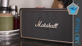 Marshall Stockwell Speaker is as Classy as it is Portable