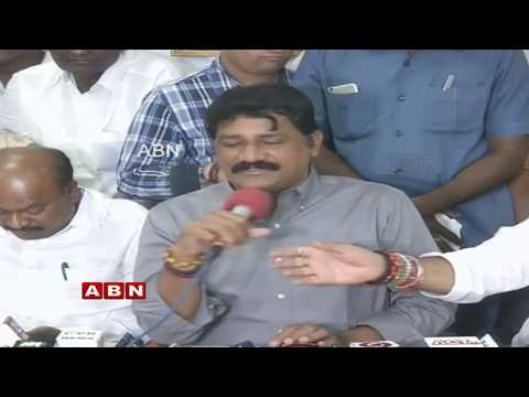 Minister Ganta Srinivasa Rao Holds a Press Meet   ABN Telugu